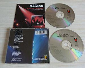 RARE-2-CD-ALBUM-L-039-INTEGRALE-PALAIS-DES-CONGRES-87-MICHEL-SARDOU-28-TITRES-1993