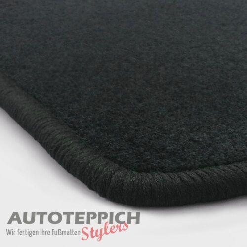 NF Velours schw-graphit Fußmatten paßt für MAZDA 2 MAZDA2 2.Gen DE 2007-2012