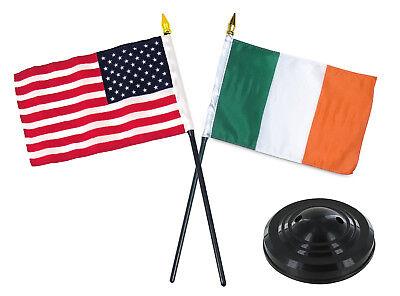 UK Union Jack Schreibtisch Flagge /& Holz Sockel 22.9cm x 15.2cm
