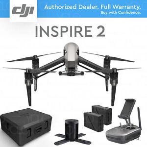 DJI-INSPIRE-2-Drone-w-Charging-Hub-amp-Case-Dual-battery-design
