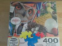 Majesticjigsaw Puzzle Encyclopaedia Britannica Birds 400 Pieces 20 X 27