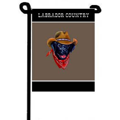Labrador Retriever Country Dog Garden Flag