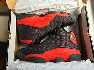c32e123764a3a9 Air Jordan Retro 13 XIII - Men s 11 - (BLACK VARSITY RED-WHITE)