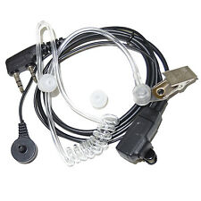 HQRP 2 Pin Auricular para Kenwood Pro-Talk, Pro-Power, Free-Talk, Protalk XLS