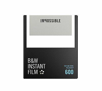 Brand New Impossible PRD4516 Black and White Film for 600 Polaroid Cameras