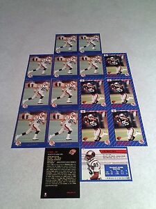 Matt-Clark-Lot-of-24-cards-3-DIFFERENT-Football-CFL