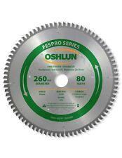 Oshlun SBFT-260080 260mm 80 Tooth FesPro Crosscut Blade for Festool Kapex KS 120