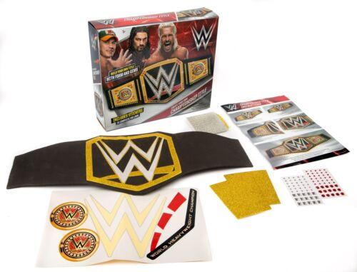 Wwe Wrestling Make Your Own Championship Title Belt John