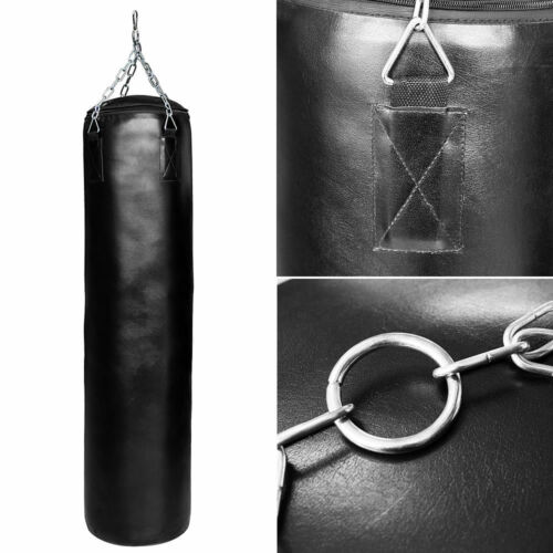 Melko® Profi Boxsack 25KG Halterung Schwarz Punching Training Rocky Boxsack