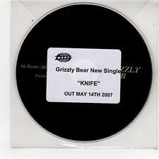 (FU333) Grizzly Bear, Knife - 2007 DJ CD