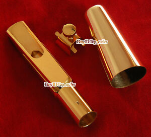 New-Gold-Plated-Metal-Saxophone-Mouthpiece-for-Baritone-Eb-Sax