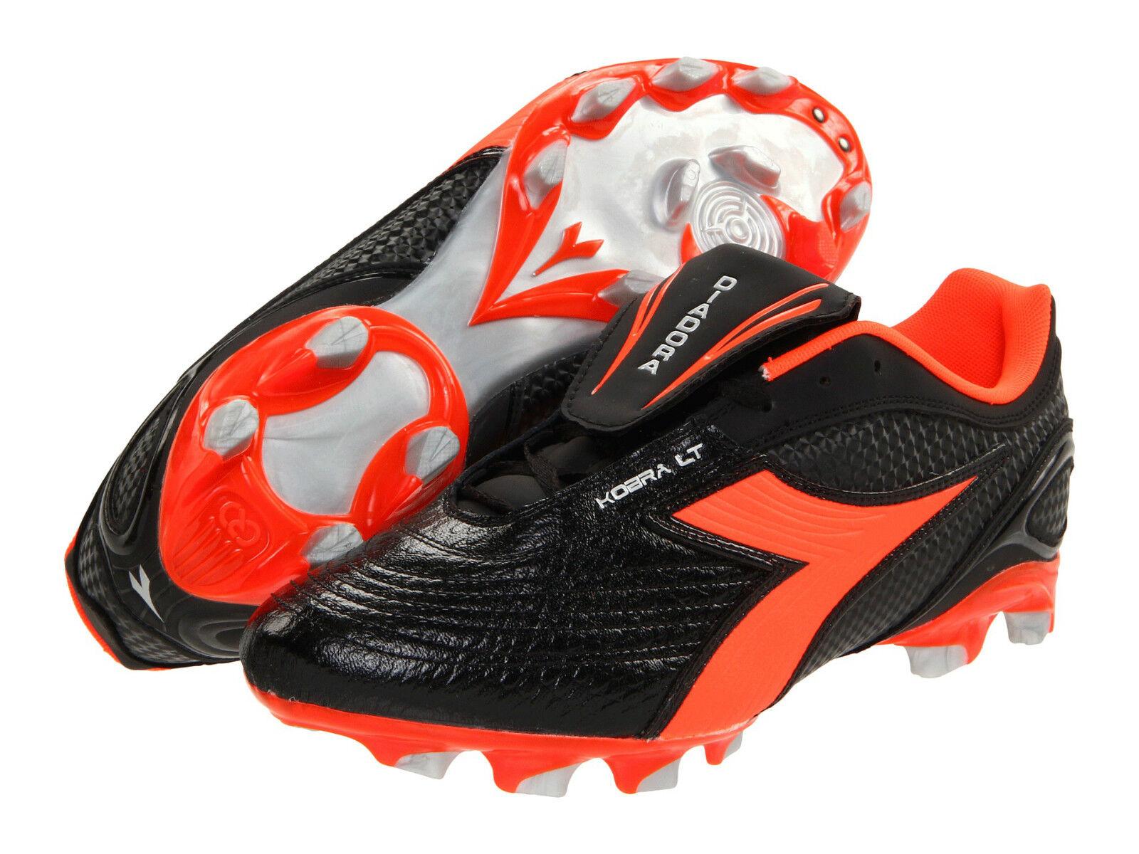 NIB NEW   Diadora Kobra Plus LT BX 14 Soccer Cleats  MEN'S PRO CLEATS