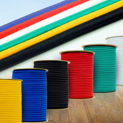 10// 30// 50// 100 Meter Seil Gummi Seile Gummiseil 10 mm Witterungsbeständig NEU