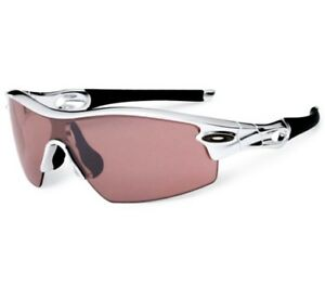 8ca0f6e3f3 Oakley 09-678 RADAR PITCH Polished Aluminium G20 Black Iridium Mens ...