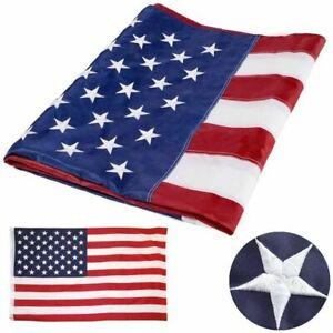 90x150cm-American-Flag-Sewn-Stripes-Embroidered-Stars-Brass-Grommets-USA-US