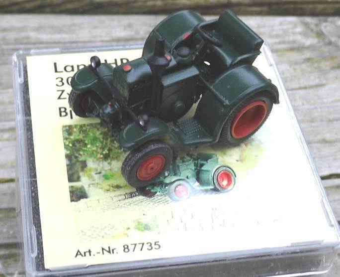 LANZ HR 6 Routes exécution Jumelle avec pneus-de Saller 1 87