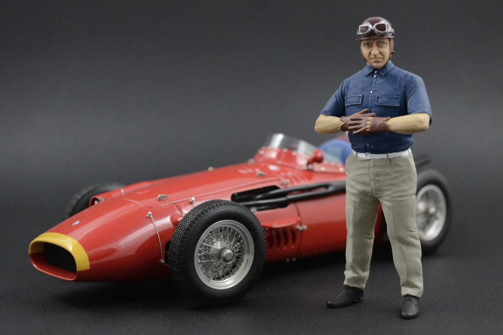 Juan Manuel Fangio Figure pour 1 18 CMC Maserati 250F