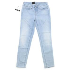 b3e86f191179 Calvin Klein Jeans Womens Ankle Skinny Denim  454 Faded Sky Blue 10 ...