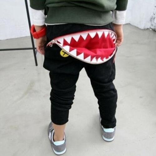 Baby Boy Girl Harem Sport Pants Kids Sweat Jogger Elastic Bottom Trouser Clothes