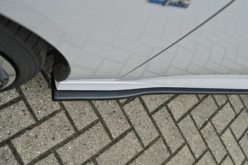 Cup latérales seuil en ABS pour OPEL INSIGNIA B OPC Line Noir Brillant