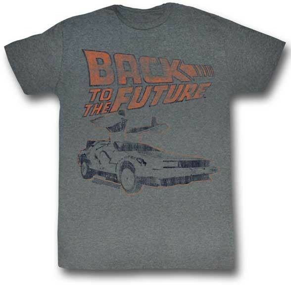 BACK TO THE FUTURE MY OTHER RIDE MARTY MCFLY DELOREAN MOVIE T TEE SHIRT S-2XL