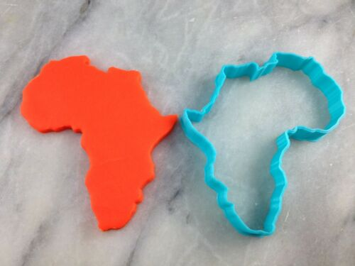 Africa Cookie Cutter Outline #1 CHOOSE YOUR OWN SIZE!