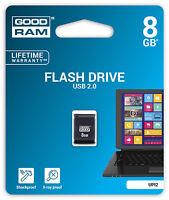 USB Speicherstick 8GB Flash Stick USB2.0 Stick 8 GB Highspeed klein schwarz