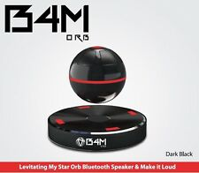 B4M ORB-Dark Black Bluetooth 4.1 Floating Sound Levitating Maglev Speak (NFC)