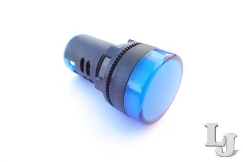 Meldeleuchte Signalleuchte Kontrollleuchte Leuchtmelder Lampe LED 230V 22mm Ø
