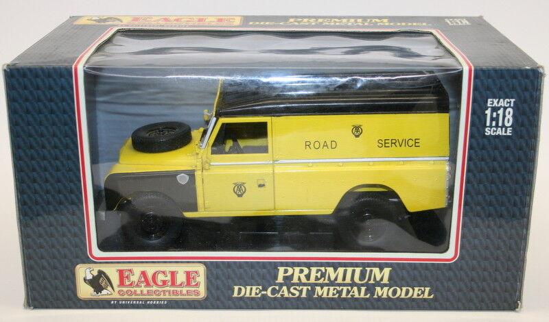 Eagle Race 1 18 Scale 4401 - Land Rover serie III 109 Hard top AA Rescue Van