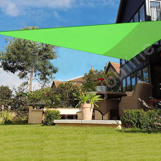 5m Sun Shade Sail Garden Patio Canopy Awning Screen 98 Uv Block