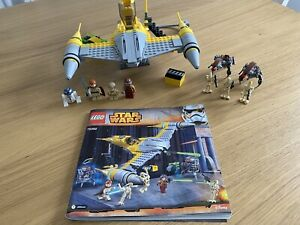 STAR-WARS-LEGO-75092-Naboo-Starfighter-complet-avec-instructions