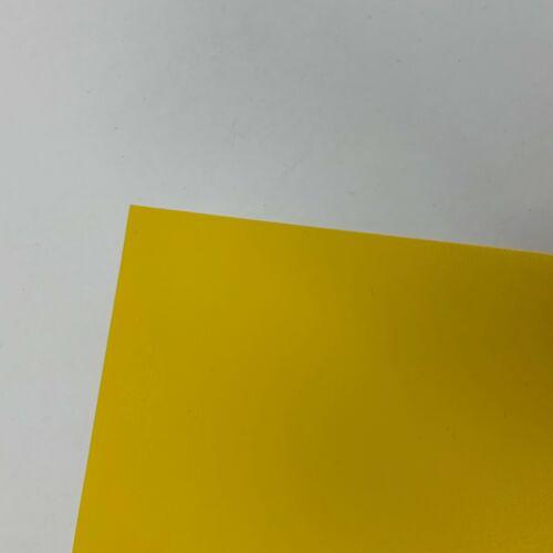 10 PCK x Yellow PVC 0.3mm Plastic Bendy Sheet Binding Art Craft /& Model Making