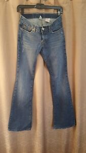 Lucky-Brand-LIL-MAGGIE-Jeans-Womens-Button-Fly-Distressed-Jeans-Size-0-25