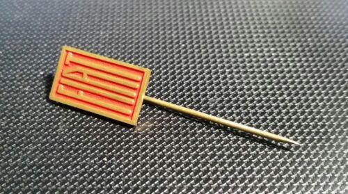 Fiat Anstecknadel lackiert golden Holland 10x17mm alt+original