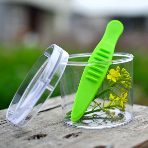 Plastic Bug Catcher Scissors Handy Scoopers Clamp for Toddler Children Kids Z