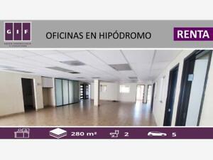 Oficina en Renta en Hipodromo