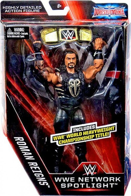Elite Network Spotlight Roman Reigns Action Figure