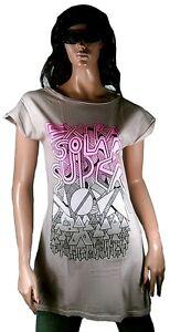 GENIAL-Kate-Moross-PARA-TOPSHOP-Disenador-Camiseta-Larga-Vestido-Tunica-VIP-T