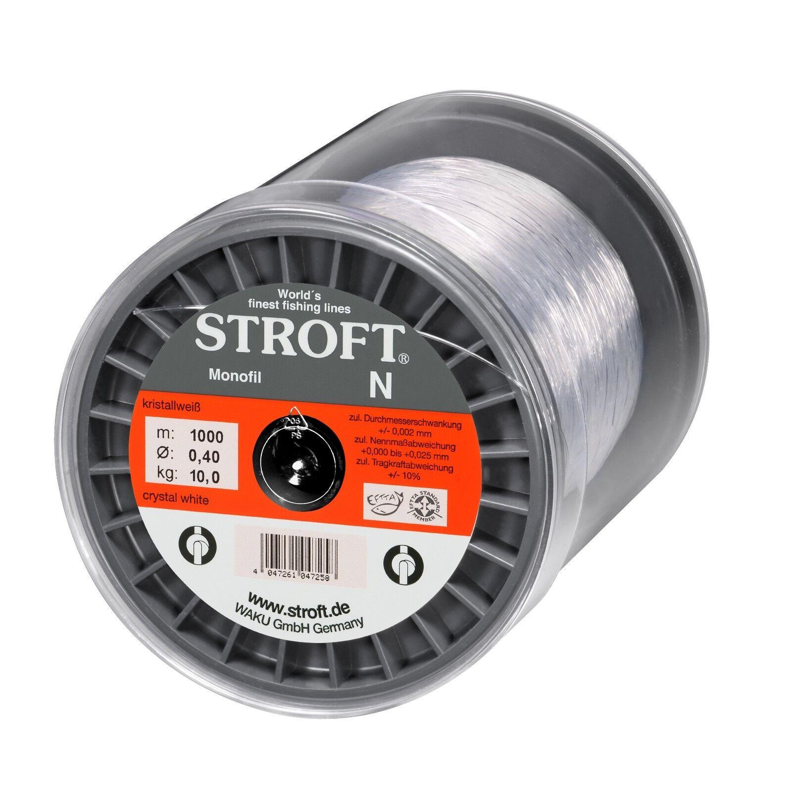 Stroft N Monofile Angelschnur Preis   Leistung Top 500 m + 1000 m Spulen  | Heißer Verkauf