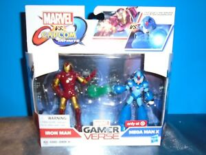 Marvel VS Capcom Infinite Iron Man /& Mega Man X Gamer Verse *New*