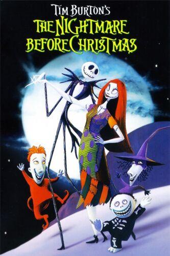 "The Nightmare Before Christmas Jack Skellington Movie Wall Poster 36/""x24/"" 014"