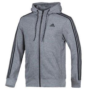 adidas-Men-039-s-Essentials-Hoodie-Dark-Grey-Black-S12904