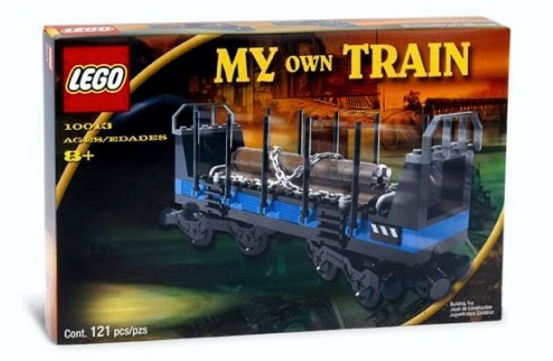 Lego My Own Train 10013 Open Freight Wagon - NEU