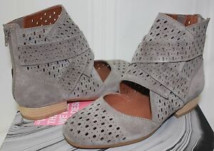 Jeffrey-Campbell-Almayo-laser-cut-taupe-suede-zip-up-booties-NEW