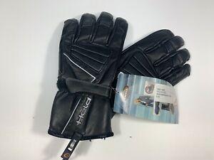 Motorradhandschuhe-Held-Fazer-2422-schwarz-Echt-Leder-Gr-13-XXXXL-Soft-Protektor