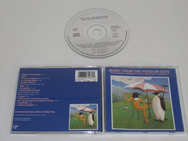 PENGUIN CAFE ORCHESTRA/MUSIC FROM THE PENGUIN CAFE(EEGCD 27 0777 7 87448 2 5) CD