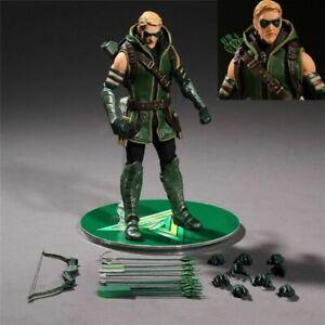 Mezco-DC-Comics-GREEN-ARROW-one-12-PVC-Action-Figur-Sammlerstueck-Modell-Spielzeug
