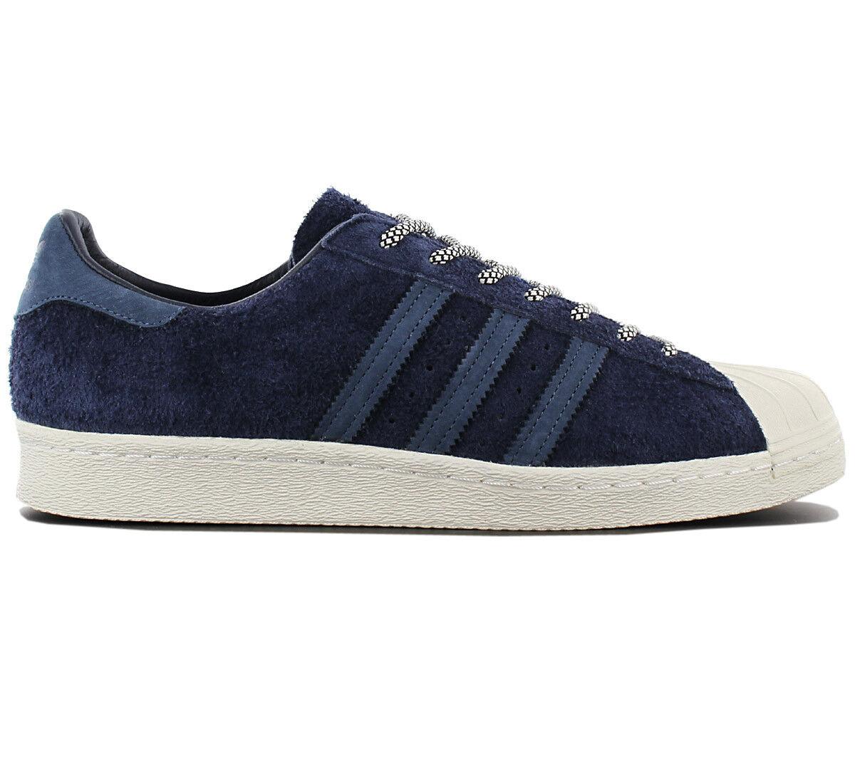 new arrival c3d02 2d306 Adidas superstar degli anni anni anni  80 le scarpe di pelle blu originali  dei formatori