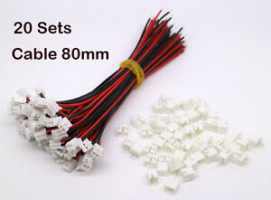 20Sets-Micro-JST-2-0-PH-2-Pin-Connector-Plug-Male-with-Wires-Cables-80mm-amp-Female